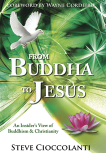 From Buddha to Jesus -kirjan kansi