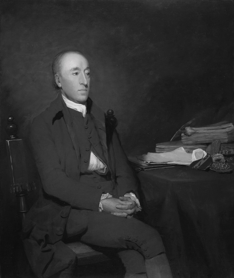 James Hutton Sir Henry Raeburnin maalaamana vuonna 1776
